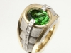 Chrome Tourmaline Men's Ring