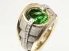 Chrome Tourmaline Men's Ring